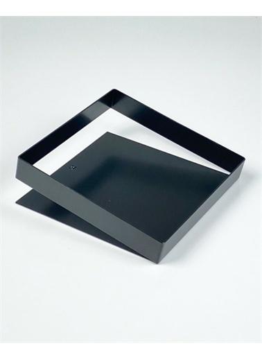 Maxmillen Metal Meyvelik - Square - Siyah Siyah